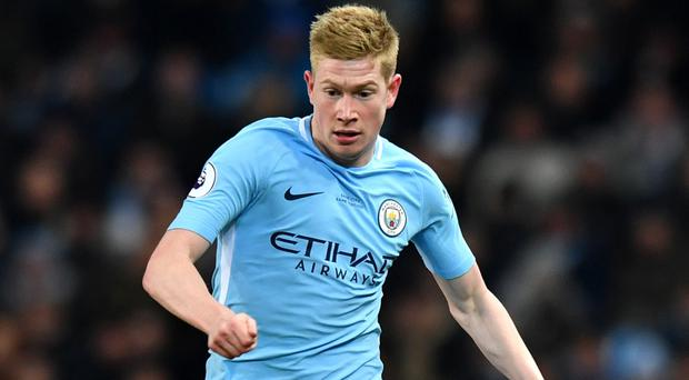 Kevin De Bruyne has been in outstanding form for Manchester City