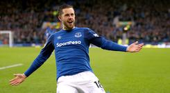 Everton's Gylfi Sigurdsson admits he has failed to live up to expectations so far.