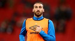 Cenk Tosun joined Everton from Besiktas last month (John Walton/PA)