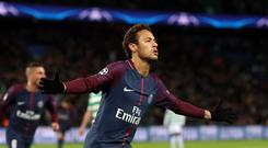Paris Saint-Germain v Celtic – UEFA Champions League – Group B – Parc des Princes