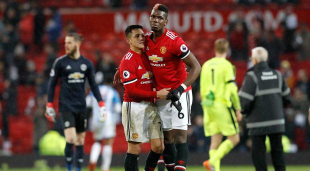 Alexis Sanchez and Paul Pogba