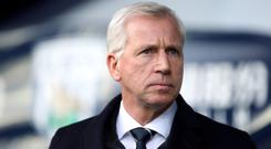 Pressure is building on Alan Pardew (Nick Potts/PA)