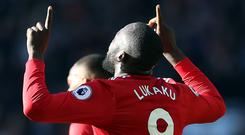 Romelu Lukaku equalised for Manchester United against Chelsea and then set up the winner