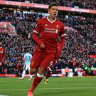 Roberto Firmino has been in fine form for Liverpool