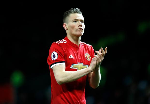 Manchester United's Scott McTominay. Photo: PA