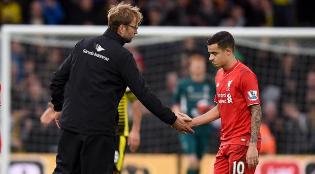 Liverpool manager Jurgen Klopp believes his side have become less predictable since Philippe Coutinho's departure.