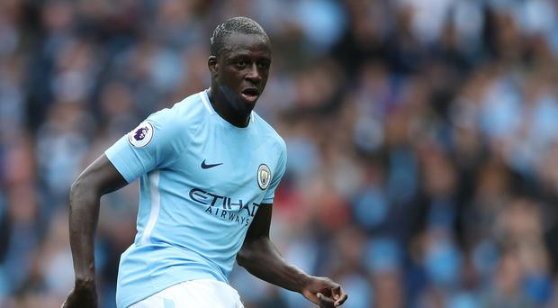 Benjamin Mendy hopes to return to action next month