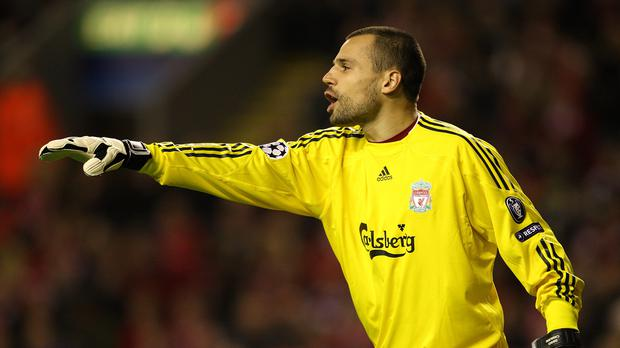 Former Liverpool goalkeeper Diego Cavalieri has signed for Crystal Palace (Mike Egerton/EMPICS Sport)