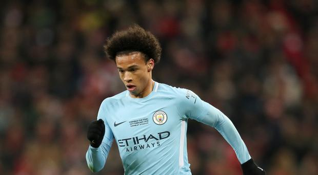 Leroy Sane is propelling Manchester City towards title glory