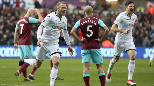 Swansea City v West Ham United – Premier League – Liberty Stadium