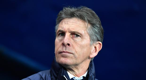 Claude Puel was disappointed to only pick up one point