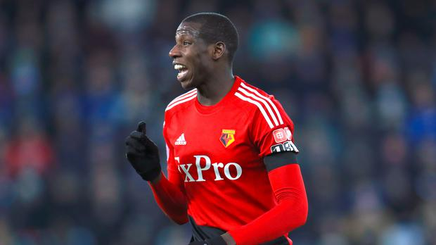 Watford's Abdoulaye Doucoure is being eyed up by a number of teams