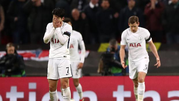 Tottenham Hotspur v Juventus – UEFA Champions League – Round of 16 – Second Leg – Wembley Stadium