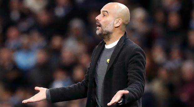 Pep Guardiola has one more year remaining on his contract at Manchester City