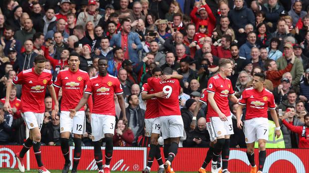 Manchester United cemented second place in the Premier League with victory over Liverpool