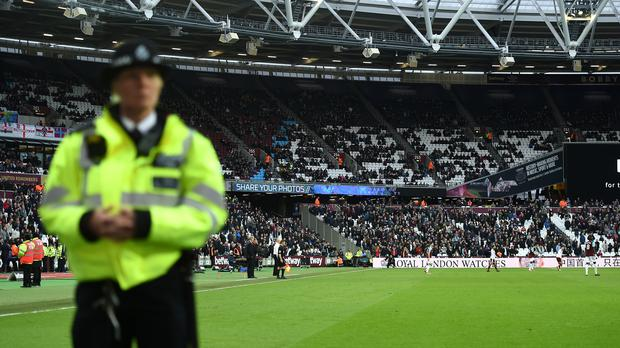Security and safety management for West Ham's home matches at the London Stadium is again under review (Daniel Hambury/PA Images)