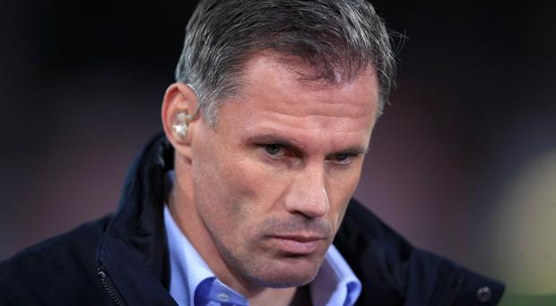 Jamie Carragher will not be appearing on Sky Sports again this season