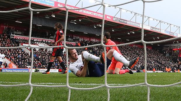 Harry Kane has suffered lateral ligament damage in his right ankle