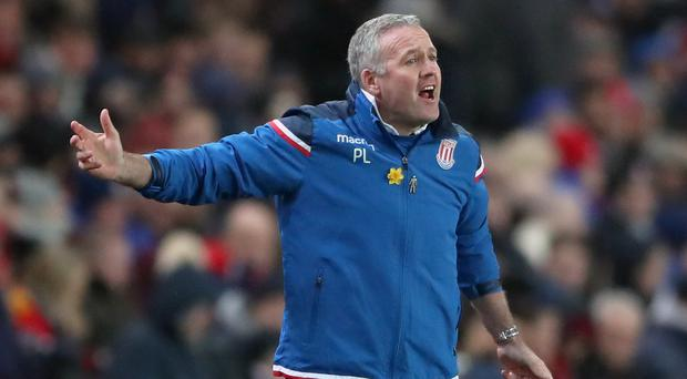 Lambert does not think his predecessor Mark Hughes has a point to prove to his old club
