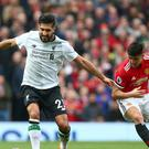 Liverpool midfielder Emre Can has admitted his failings against Manchester United last weekend.