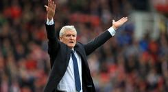 New Southampton manager Mark Hughes has confidence his new team can secure their Premier League status (Mike Egerton/PA Images)