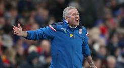 Stoke manager Paul Lambert hopes his side move out of the bottom three this weekend