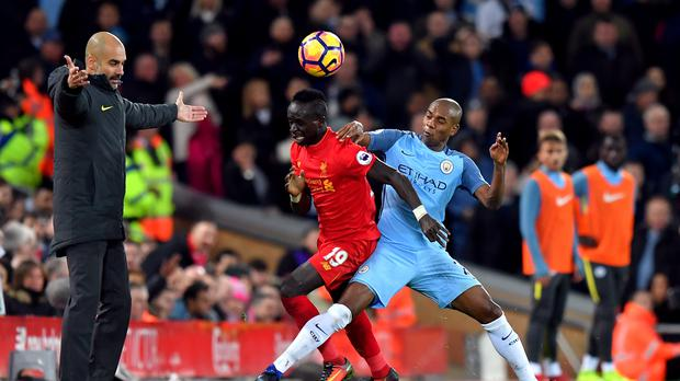 Liverpool and Manchester City will play the first leg of their Champions League semi-final at Anfield (Dave Howarth/PA Images)