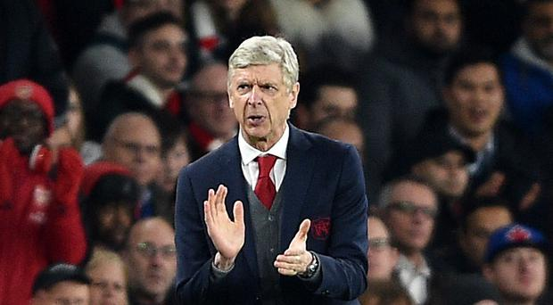 Arsene Wenger has seen his Arsenal side recover form to book their place in the quarter-finals of the Europa League (Daniel Hambury/EMPICS Sport)