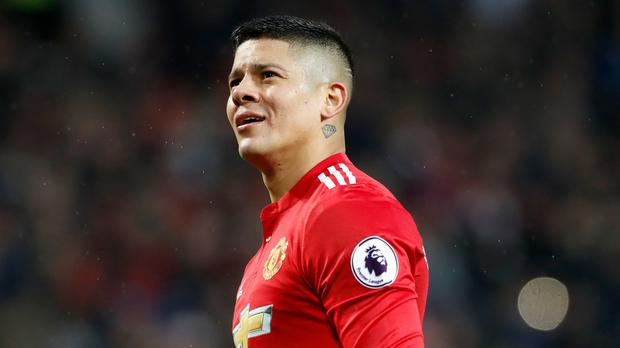 Marcos Rojo is staying with Manchester United