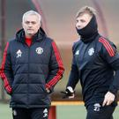Jose Mourinho and Luke Shaw have had issues to work on