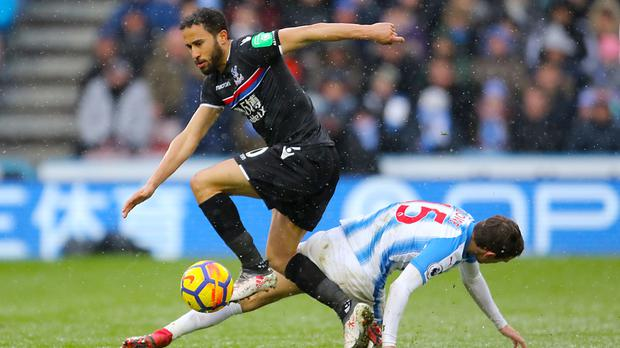 Andros Townsend, left, has experienced relegation with QPR and Newcastle