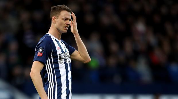 Jonny Evans can leave West Brom for £3m if they get relegated (Nick Potts/PA)