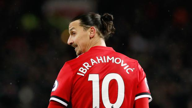 Manchester United's Zlatan Ibrahimovic is to join the LA Galaxy (Martin Rickett/PA)