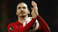Zlatan Ibrahimovic is ready to make a major impact on the MLS after signing for the Los Angeles Galaxy (Martin Rickett/PA Images)