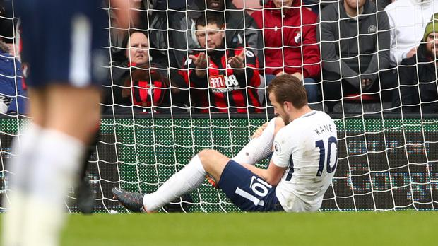 Harry Kane is recovering from an ankle injury