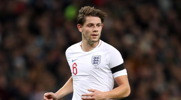 James Tarkowski became the latest Burnley player to feature for England (Adam Davy/PA)