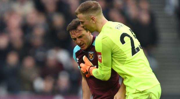 Crowd trouble marred West Ham's clash with Burnley