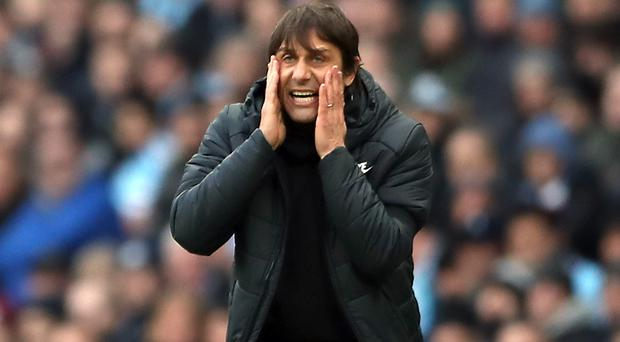 Antonio Conte's Chelsea are in danger of missing out on Champions League football