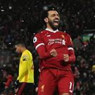 Liverpool's Mohamed Salah could equal a Premier League record at Crystal Palace