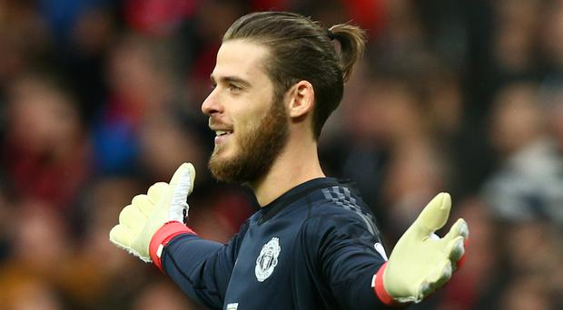 There was no way past David De Gea on Saturday