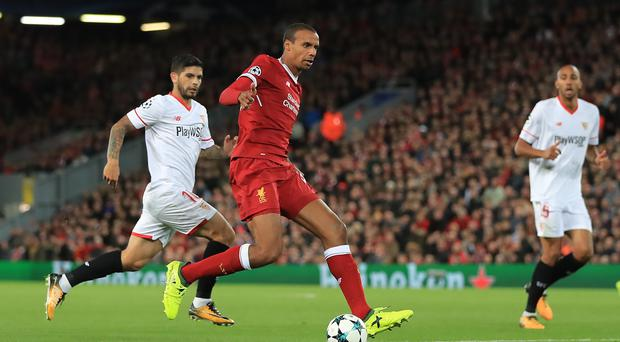 Liverpool defender Joel Matip is set to miss the rest of the season with a thigh injury