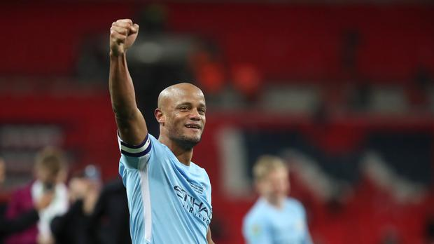 Manchester City captain Vincent Kompany insists their unfinished business with Liverpool will have to wait as they have a Premier League title to win this weekend
