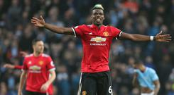 Paul Pogba inspired Manchester United's victory