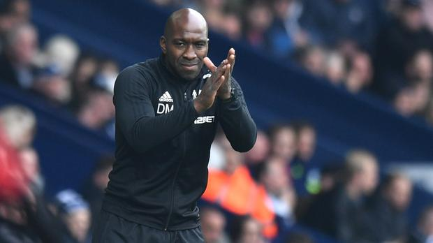 Darren Moore hailed the Baggies' spirit