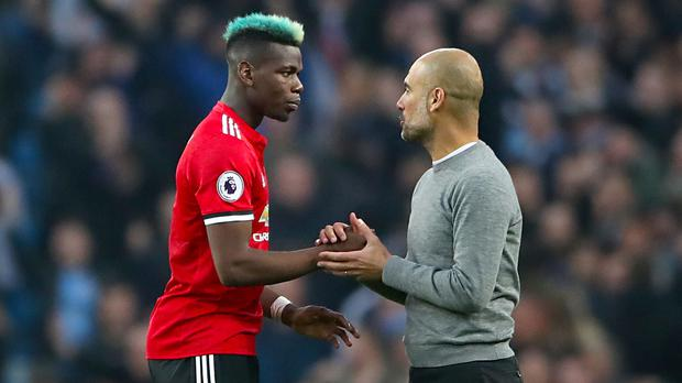 Manchester City manager Pep Guardiola remained philosophical after seeing Paul Pogba inspire Manchester United to a comeback victory
