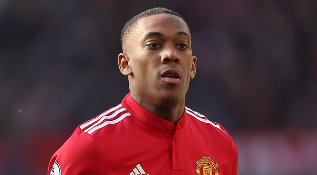 Anthony Martial. Photo: Nigel French/Empics/PA