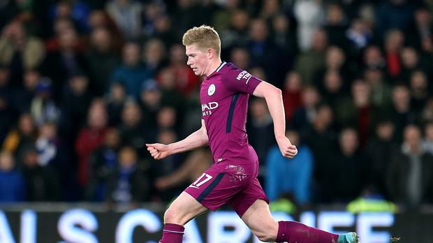 Kevin De Bruyne has been shortlisted for the PFA Player of the Year award