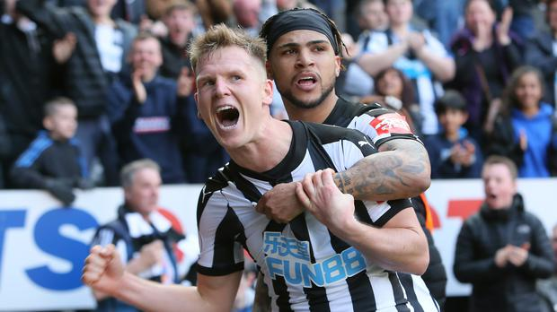Matt Ritchie (left)