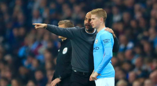Manchester City's Kevin De Bruyne has thrived under Pep Guardiola
