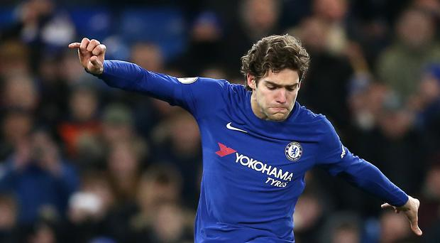 Marcos Alonso has been charged with violent conduct by the Football Association